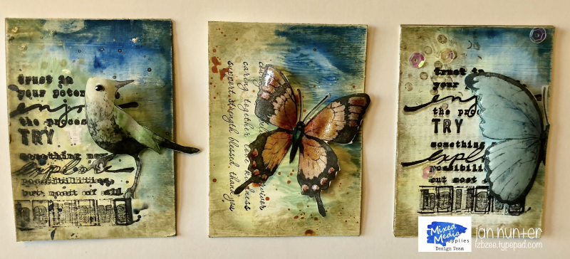 Birds-n-butterflies atc
